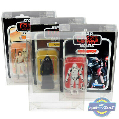 Display Case for Star Wars Vintage Collection 3.75 Figures 0.5 PET Protector Box