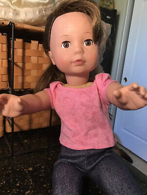 Pottery Barn Kids Gotz Baby Doll Natasha Dark Skin ~ NEW IN BOX