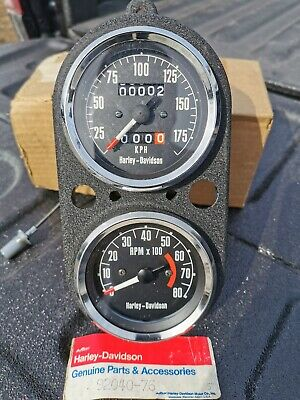 NOS Harley Speedometer And Tach