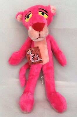 """Vintage Rare Pink Panther Plush Stuffed Animal Toy Ace 1993 14"""" Long Mint W/ TAG"""