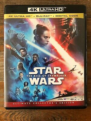 Star Wars: The Rise of Skywalker (4K Ultra UHD, No Blu-ray or Digital) Like New!