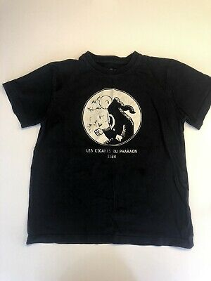 Vintage Tin Tin Kids T Shirt Size 10