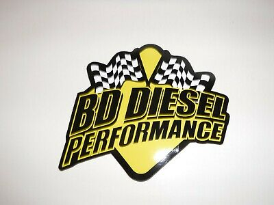 "BIO  DIESEL  PERFORMANCE  RACING / DECAL  OVAL  OFF ROAD - TRUCK  6.5 "" x 5.5 """
