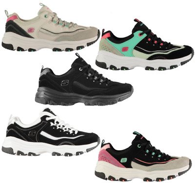 SKECHERS ICON DLITE Scarpe Sportive Donna UK 5 USA 8 Eu 38