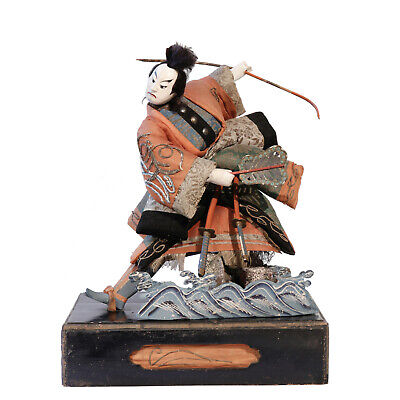 Antique Japanese Takeda Ningyo of Kabuki Warrior