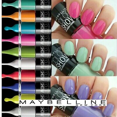 Maybelline Color Show 60 Seconds Nail Polish Varnish NEW **Choose Your Shade**