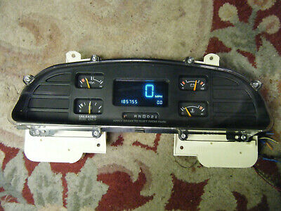 NEW OEM GM 94-96 IMPALA SS /& CAPRICE SPEEDOMETER DASH CLUSTER CLEAR PLASTIC LENS
