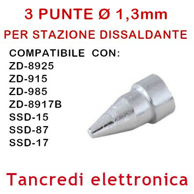 Pointe buse 1 mm N5-2 Stations SSD-15 37.ZD915 37.ZD917 SSD-17