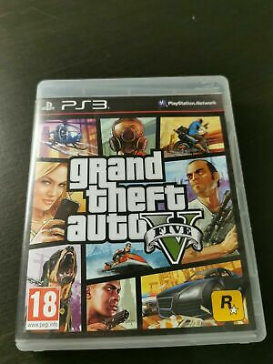 PS3 - Grand Theft Auto V (GTA 5)  (c)