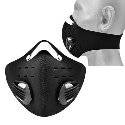 Resuable Activated Carbon Half Face Shield with Filter Cycling Riding Outdoor