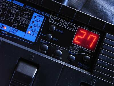 Zoom Player 1010 Guitar Multi Effects Pedal From Japan #330