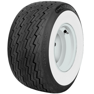 1 New 18x8.50-8 Coker Classic 4 Ply Golf Cart 2 1/2 Inch Wide Whitewall 50188