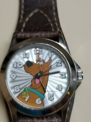 Scooby doo watch WORKS Armitron vtg. 2003 Unused free ship