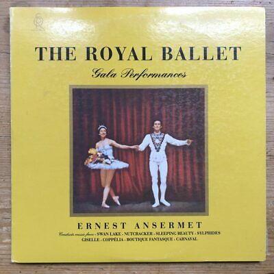 LDS 6065 The Royal Ballet Gala Performance / Ansermet 200 gram Quiex SV-P2 LP...