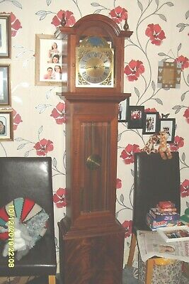 Grandfather Clock  Triple Chime Moon Phase Whittington  Westminster  St Michael