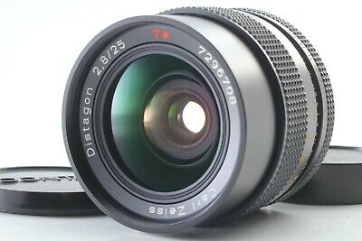[ Mint ] Contax Carl Zeiss Distagon T 25mm F/2.8 Mmj Lentille Cy Support Japon