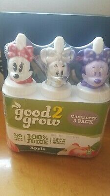 """Good2Grow Disney /""""SILVER MINNIE MOUSE/"""" Bottle TOPPERS /""""LIMITED EDITION/"""" 3"""