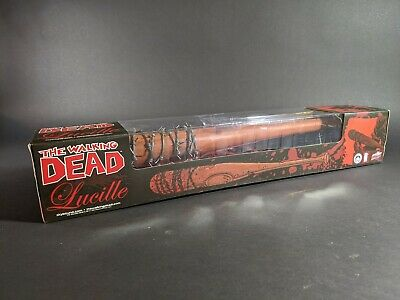 """SDCC 2017 The Walking Dead Negan Lucille Full Size 34/"""" Bloody Bat Skybound"""