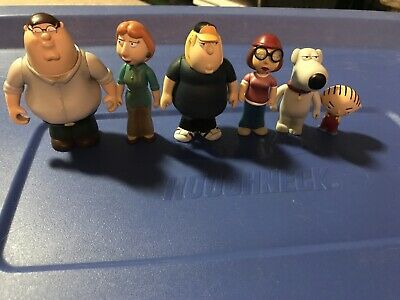 The GRIFFINS Family Guy Figures, Used No Box, Loose Figures Only
