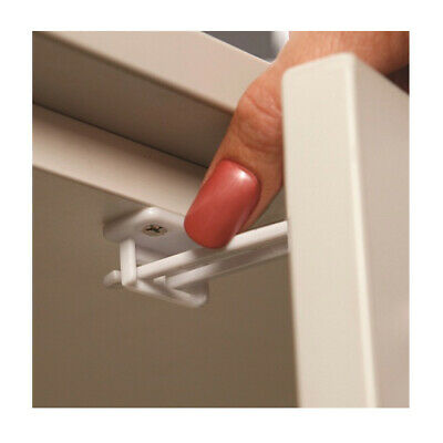 2 Pc Dreambaby Cabinet Lock Child Proof Drawer Door Twin Pin Latch Baby Safety
