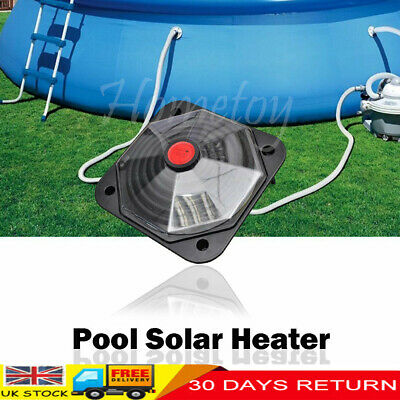 Above Ground Swimming Pool Solar Heater Hot Water Heating Sun Powered Panel