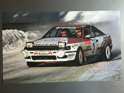 1992 Toyota Celica-GT Rally Car Print, Picture, Poster RARE!! Awesome L@@K