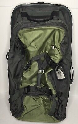 Eagle Creek Rolling Duffel Bag Wheeled Cargo Hauler Camp Luggage Green Black