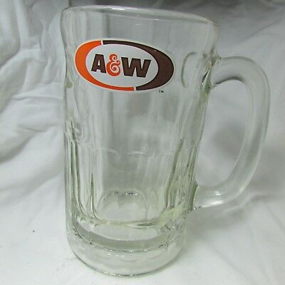 A & W Root Beer Mug Vintage Glass Rare-Float