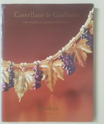 SOTHEBY'S JEWELS CASTELLANI GIULIANO Judith Siegel Collection Auction Book