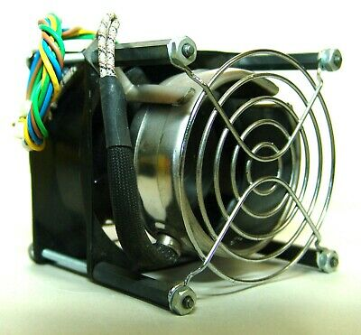 "PAPST 8560 N AC FAN 115/230 V-AC WITH HEATING ELEMENT 3""x3""x 3-1/4"""