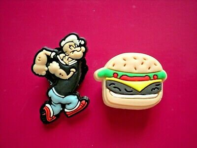 Peace Sign Shoe Charm Button Plug Fits Jibbitz Wristband Compatible W/Crocs Hole