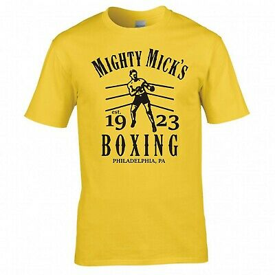 """Inspired By Rocky """"Mighty Mick's Boxing"""" T-Shirt"""