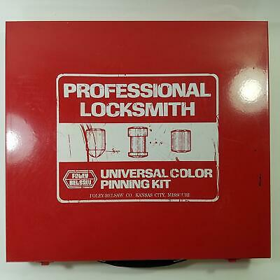 Foley Belsaw Universal Color Coded Pinning Kit 1994