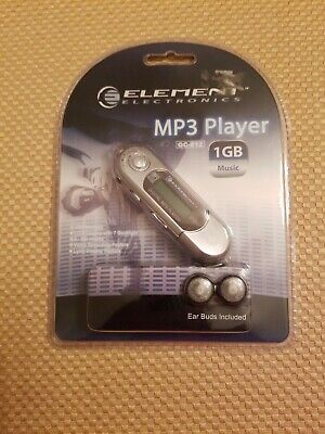 Elemwnt Electronics MP3 Player GC- 812 1GB With Ear Buds