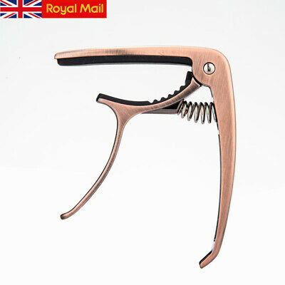 UK Professional - Bronze Capo For Acoustic And Electric Guitars