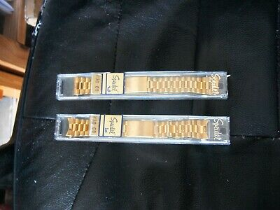mens SPEIDEL 20mm Stainless Steel GOLD tone  Watch Band
