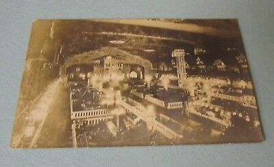 1912 Boston Electric Show RPPC Real Photo Postcard #1 with Show Stamp Exhibits
