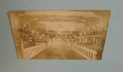 1912 Boston Electric Show RPPC Real Photo Postcard #2 with Show Stamp Exhibits