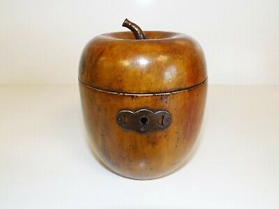 Antique Georgian Apple Tea Caddy.