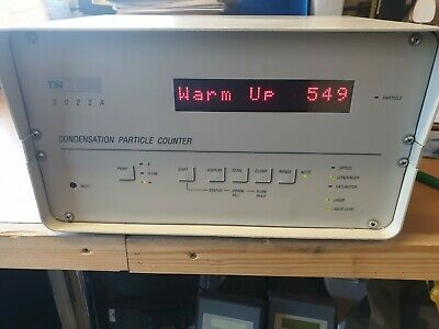 TSI 3022A  Benchtop Lab Condensation Particle Counter CPC
