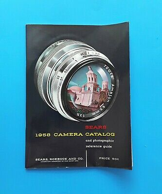 SEARS 1958 CAMERA CATALOG and PHOTOGRAPHIC REFERENCE GUIDE