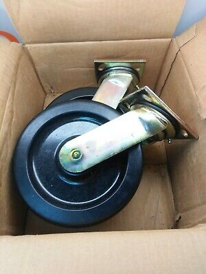 "BOX OF 2 E R Wagner Casters 8"" 3A846B"
