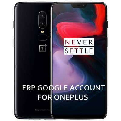 OnePlus Google account lock frp remove 6T 6 5T 5 3