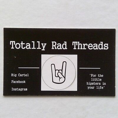Totally Rad Threads Business Card
