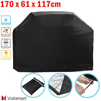 170CM Large BBQ Cover Heavy Duty Waterproof Garden Barbecue Grill