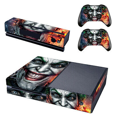 The Joker Console SKIN + 2 x Controller Stickers Decal for Xbox One FacePlate