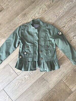 Girls NEXT Army Style Jacket . Age 8 Years