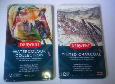 Derwent Watercolour & Tinted Charcol  Duo