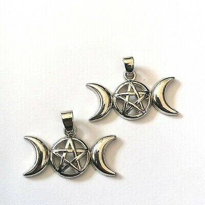12 x Tibetan Silver Water Inverted Triangle Pagan Wiccan Charms Pendants Beads