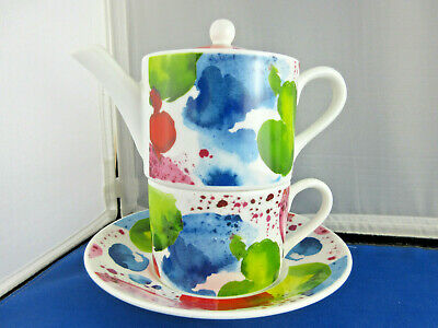 SALE PLANETS TEA FOR ONE ROY KIRKHAM, Fine Bone China, Made in England. NEW